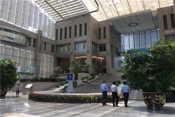上海银行大厦-办公空间